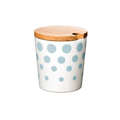 Cup, Revy, large with lid - POWDERBLUE