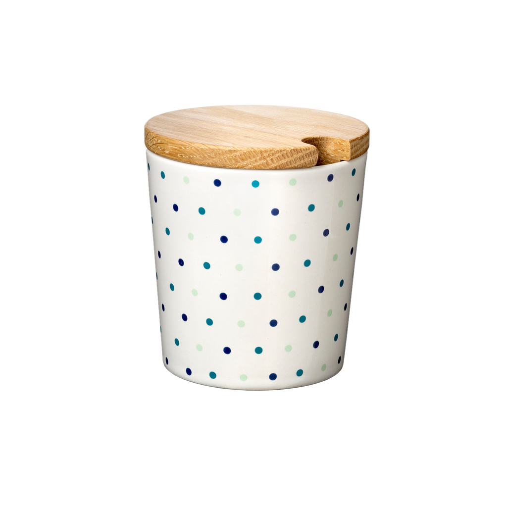 Cup, Ro, large with wooden lid