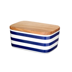 Butter Box, Stripes, blue