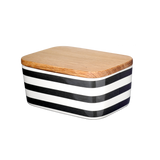 Butter Box, Stripes, dark grey