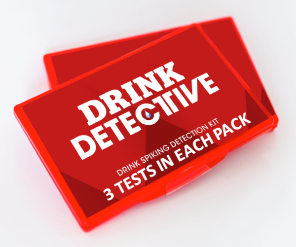 The Drink Detective  (3 single use tests)