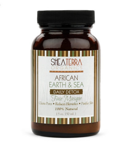 African Earth & Sea Detoxifying Mineral Face Masque