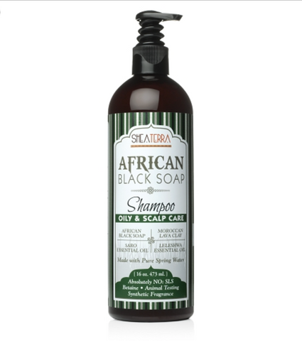 African Black Soap Natural Shampoo (OILY & SCALP CARE)