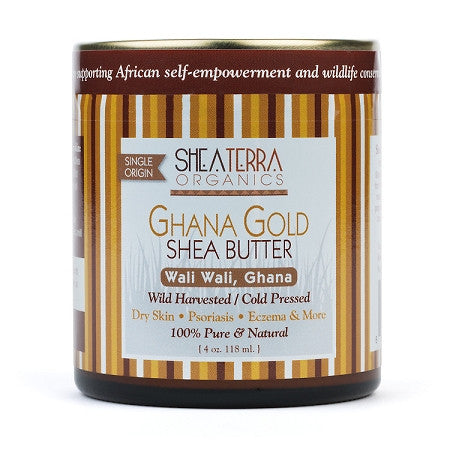 100% Pure & Natural African Shea Butter. The Gold Standard in shea butter. repairs aging skin, decreases chapped, flaky skin, decreases scarring, eczema, and even stimulates hair growth.