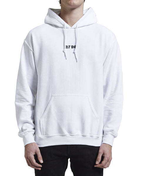 BFDG Hoodie White