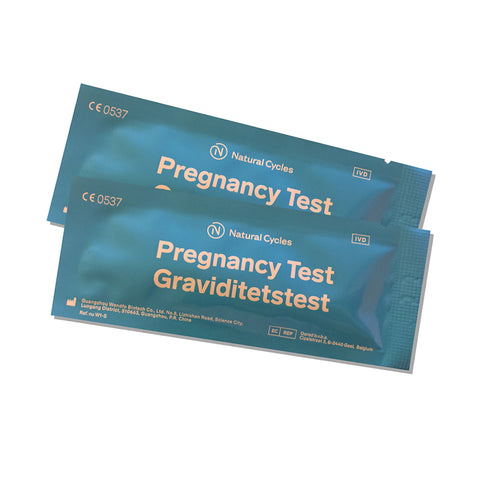 Natural Cycles Pregnancy tests - 10 packs
