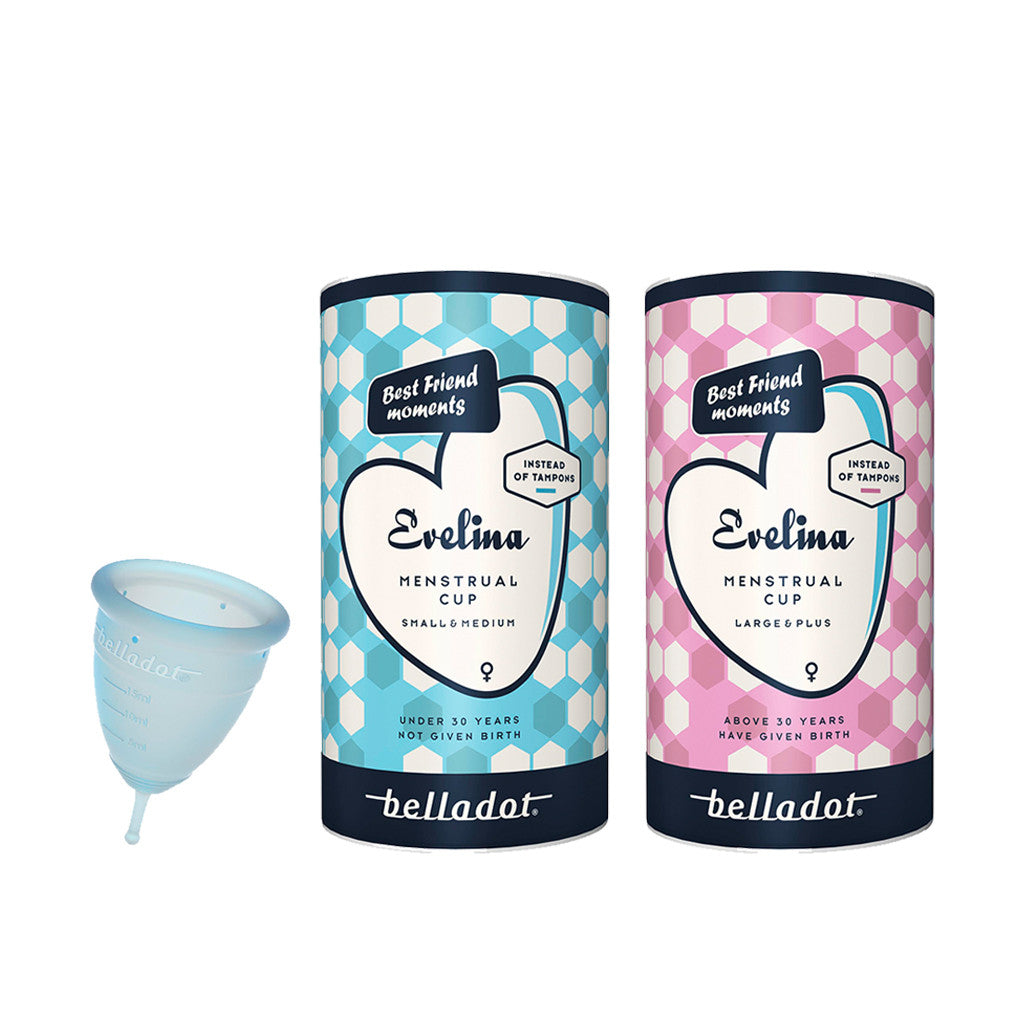 Menstrual cup Evelina M/L from Belladot