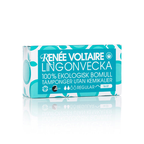Lingonvecka Tampons Regular by Renée Voltaire - 16 pack