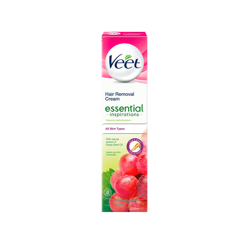 Veet Essential Hair Removal Cream 200 ml