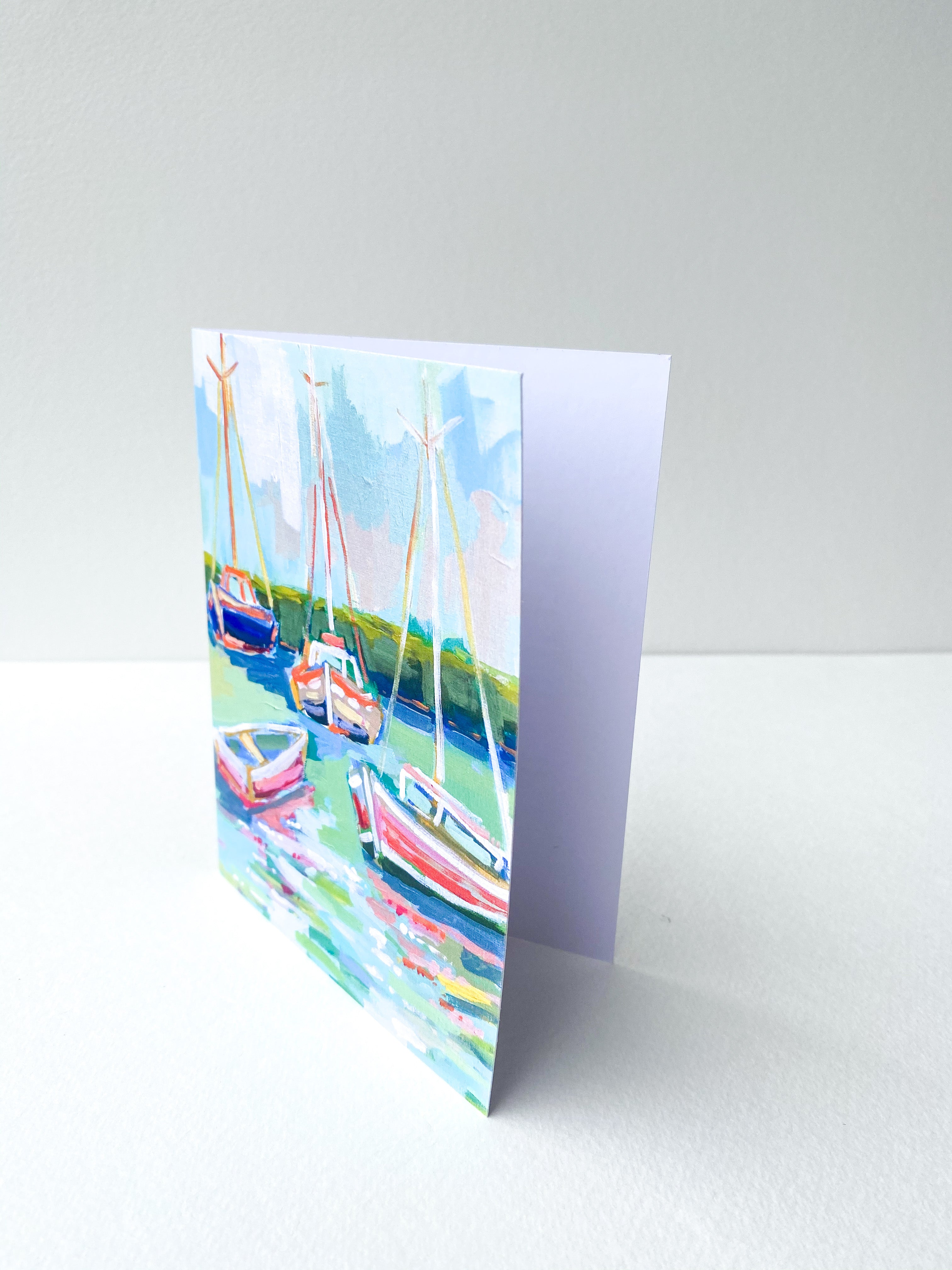Boat With Me Notecard Set