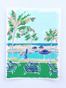 Palm Beach Sketch 4