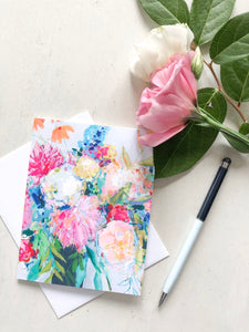 Paris In Bloom Notecard Set