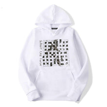 Load image into Gallery viewer, .c / SR Quarantine Crossword - WHITE - Hoodie