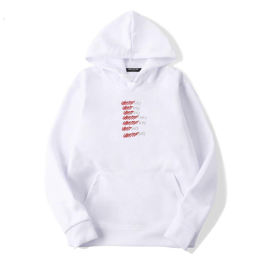.c / SR Quarantine Weekdays - WHITE - Hoodie