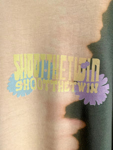 .a / SR T-shirt FLOWERS, WE ARE THE SUN! - TIE DYE