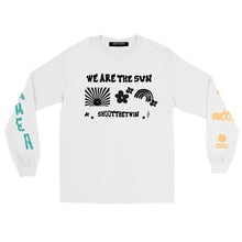 Load image into Gallery viewer, .a / SR T-shirt WE ARE THE SUN! - Long Sleeve - WHITE