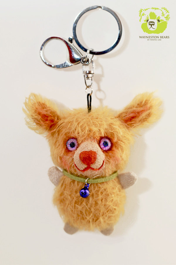 Teddy Bear Key Ring,  Lewis by Wayneston Bears