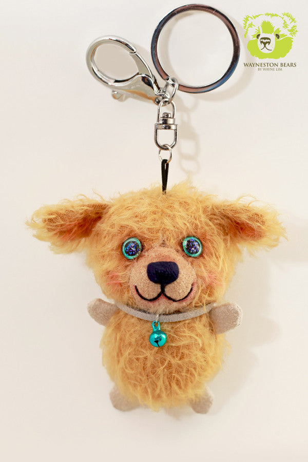 Teddy Bear Key Ring, Johnny by Wayneston Bears