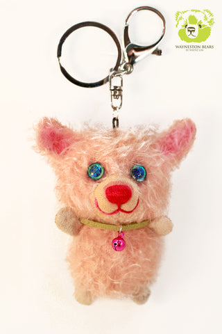 Teddy Bear Key Ring, Emily by Wayneston Bears
