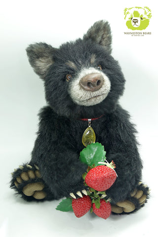 Artist Bear, Aardbei by Wayneston Bears