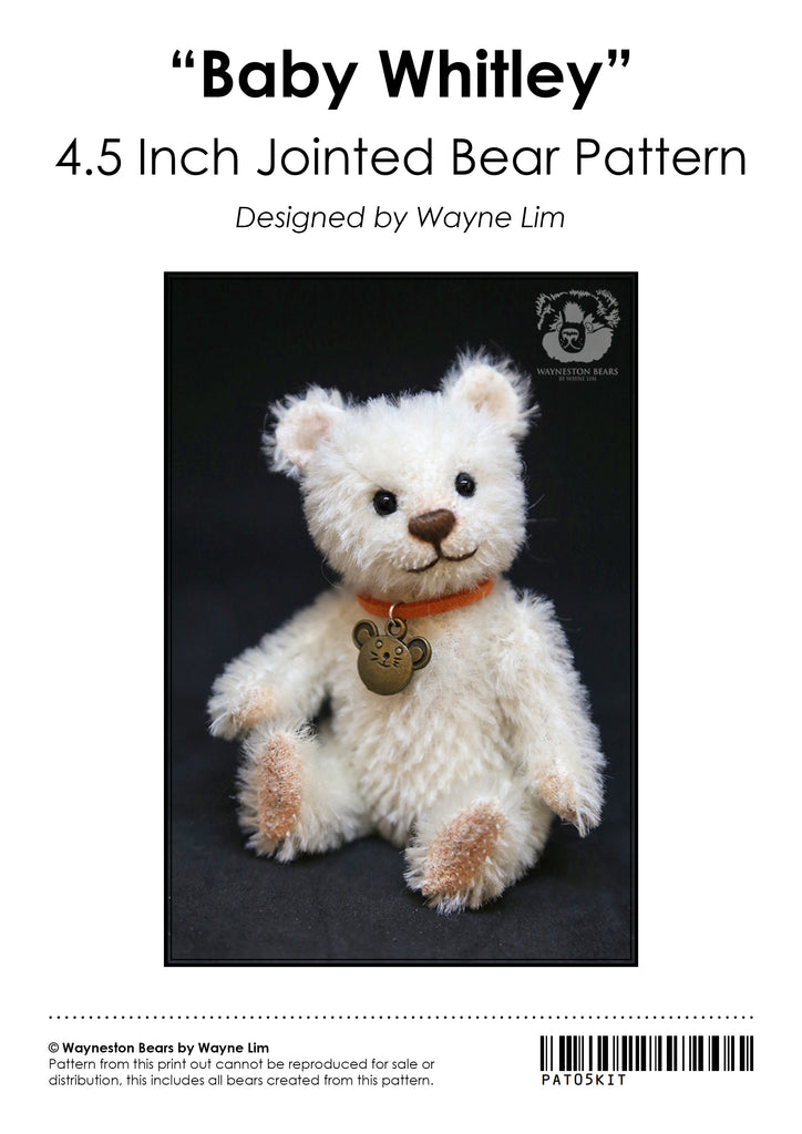 Baby Whitley E-Pattern by Wayneston Bears