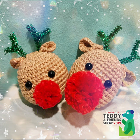 Reindeer Amigurumi (Crochet for Beginners) by Knotty Bicsie, 11am - 2pm