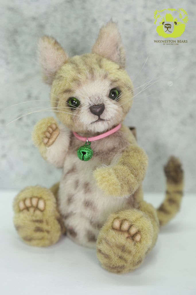 Intermediate (2-Day Workshop) Buttercup Kitten by Wayneston Bears