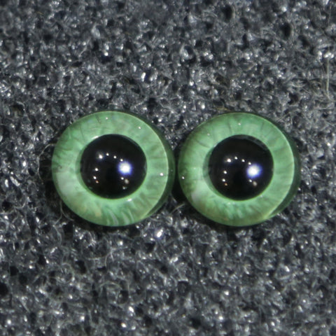 Buzzard Glass Eyes - Green