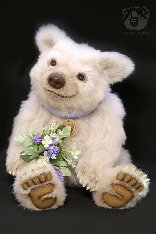 Artist Bear, Casper by Wayneston Bears