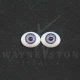 Flat Back Designer Glass Doll Eyes - 2 (New Design)
