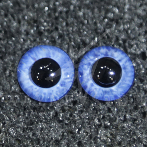 Buzzard Glass Eyes - Blue