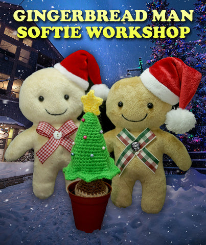 Ginger Bread Softie Workshop (School Holiday Workshop)