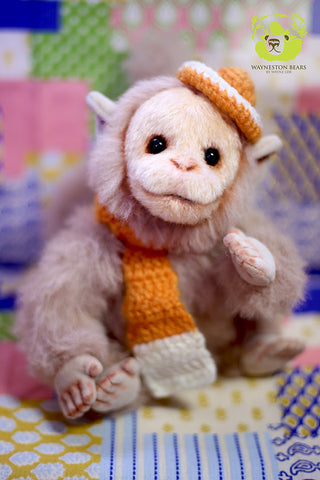 Artist Monkey, Johnson by Wayneston Bears