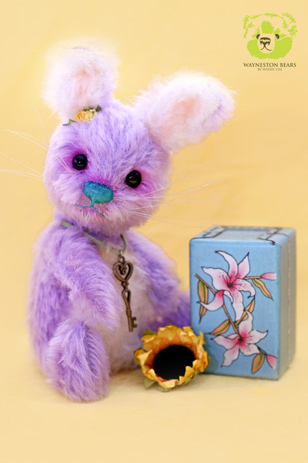 Artist Bunny, Joyce by Wayneston Bears