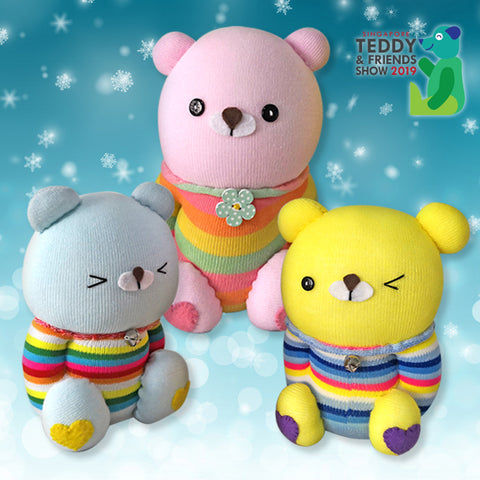Candy Sock Teddy Bear by LCraft, 3pm - 6pm