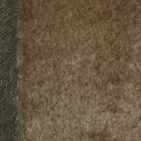 Mohair - Medium Dense Brown Tips, 14mm