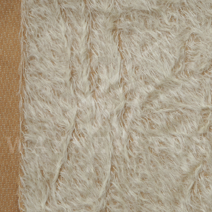 Mohair - Sparse Distress Beige, 15mm