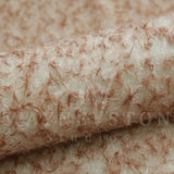 Mohair - Curly Medium Dense, White with Brown Tips, 23mm