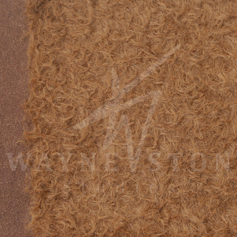 Mohair - Sparse Distress Dark Brown, 23mm