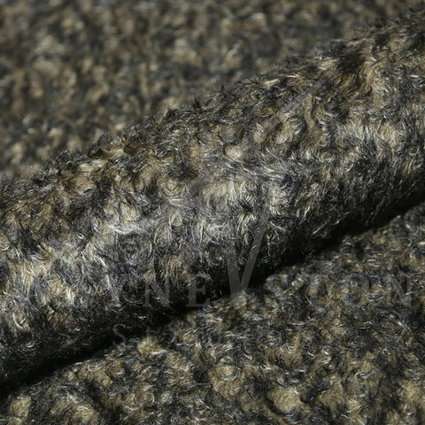 Mohair - Curl Black Tips, 23mm