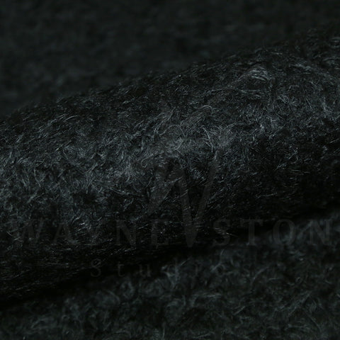 Mohair - Curl Black, 23mm