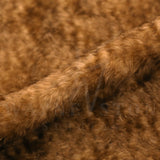 Mohair -  Medium Dense, Curl Dark Brown with Tips, 25mm
