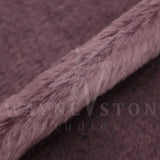 Mohair - Dense, Straight Purple with Dark Purple Backing, 25mm