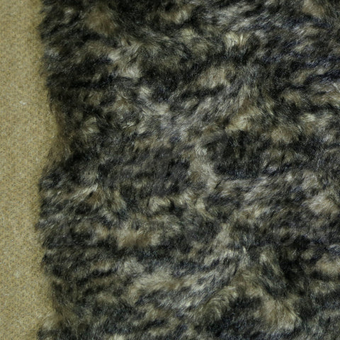 Mohair - Curl Black Gold, 26mm