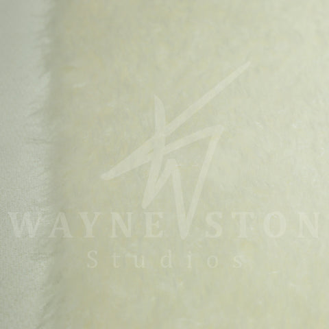 Mohair - Medium Dense, White, 40mm