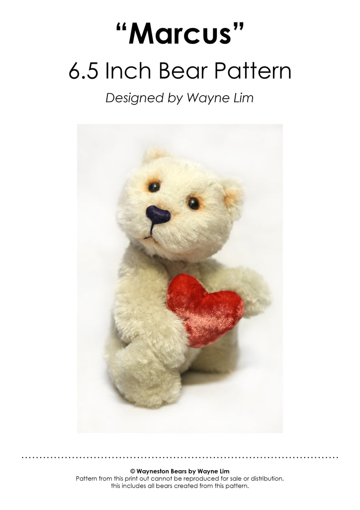 Marcus E-Pattern by Wayneston Bears