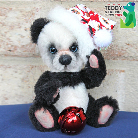 'Jingle' Christmas Panda Workshop by Nikkel Bears, 11am - 2pm | 3 - 6pm