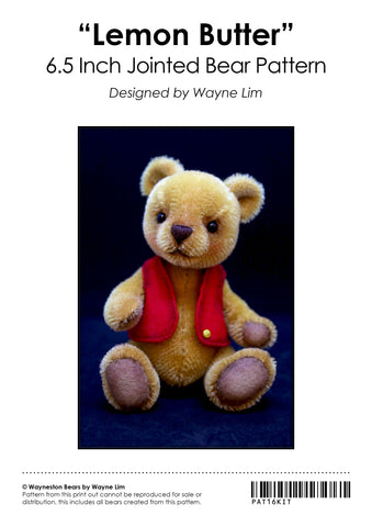 Lemon Butter Kit (Pre-Order) by Wayneston Bears