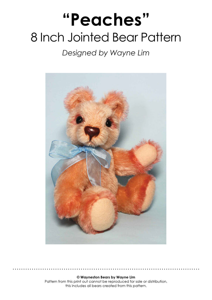 Peaches E-Pattern by Wayneston Bears