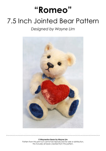 Romeo E-Pattern by Wayneston Bears